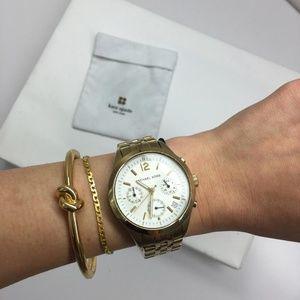 Kate Spade NY Sailor's Knot Hinge Bengal Bracelet
